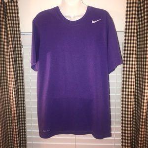 Nike dri-fit purple shirt